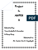 Project in Mapeh