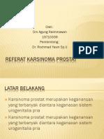 Referat Karsinoma Prostat