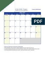 Horario Examenes + Calendario -2017