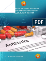 Evaluasi Penggunaan Antibiotik Pada Unit Perawatan Intensif (