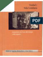 Ana Falú. Ciudad y Vida Cotidiana