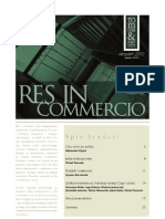 Res in Commercio 08/2010
