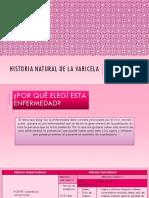 Historia Natural de Varicela2.0