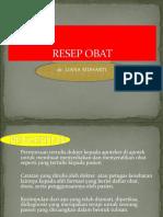 RESEP 2013