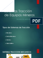 Sistemas Tracción de Equipos Mineros