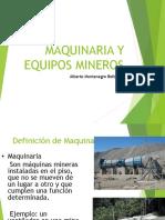 Maquinaria y Equipos Mineros