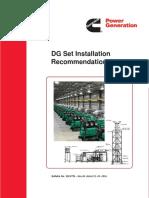 Dg Generator Set Installation