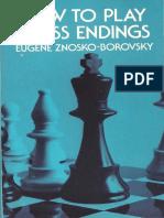 Znosko-Borowski - How to Play Chess Endings.pdf