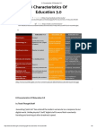 8 Characteristics of Education 3