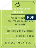 17 Ways to Avoid Colds and Flu