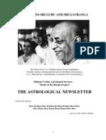 The Astrological Newsletter - Issue-15 - 2010 November 06