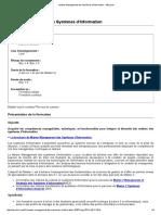 Master Management Des Systèmes d'Information - IAE Lyon