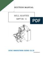 SAFF3G C Manual