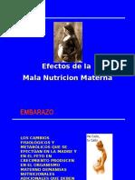 Clase 13 Mala Nutrición Materna