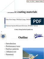Ablative Coating Materials