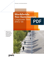 Pwc Worldwide Tax Summaries Corporate 2015 16