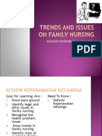 Trends and Issues on Family Nursing
