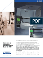 CL-S700 SellSheet Spanish v11 0