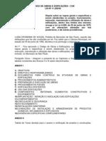 CÓDIGO DE OBRAS E EDIFICAÇÕES-
