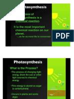 Fotosintesa Dan Respirasi