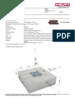 IM-EM-AMB-01.0-C (Verificacion de Estructura Metalica de Estacionamientos) - Placa Base