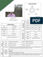 Character Profile- Max Devine