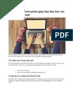 18 Phím Tắt Powerpoint Giúp Bạn Làm Báo Cáo Nhanh Chóng Mặt