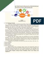 Kajian Empirik Tentang Pranata Pendidikan Dalam Latar Budaya Dan Organisasi