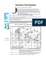 Planetary Grid System of the Earth