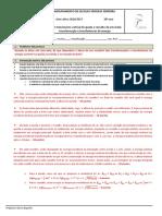 Física - AL 1.2 - Movimento Vertical de Queda e Ressalto de Uma Bola - Transformação e Transferências de Energia (Relatório - CORREÇÃO)