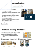 Biomass Heating Slides