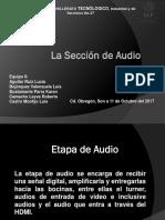 La Sección de Audio- Equipo 8