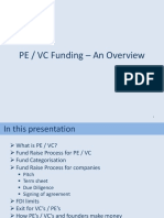 PE VC Funding an Overview