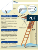 Escadas Retráteis ESCADEX_Manual