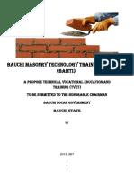 Bauchi Masonry Technology Training Institute
