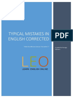 E-book- Typical Mistakes Corrected