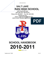 School Handbook 2010-11
