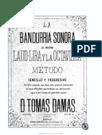 La bandurria sonora elnuevolaud-lira y laoctavilla