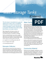 Water Factsheet Cisterns