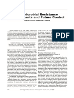 Antimicrobial Resistence Determinants and Future Control