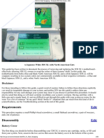 3DS XL Shell Swapping - Nintendo 3DS Wiki Guide