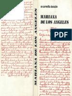 Un Carmelita Descalzo - Vida de La Hermana Mariana de Los Ángeles