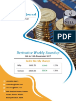 Derivative Weekly Journal-6th to 10th Nov 2017