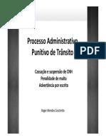 Material Palestra Processo Administrativo Punitivo