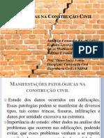 Patologias Na Construção Civil