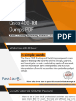 Cisco 400-101 Real Exam Questions Answers