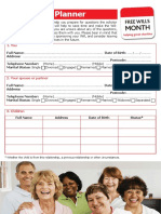 Free Wills Month Will Planner