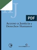 Acceso a Justicia y Derechos Humanos