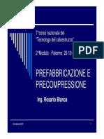 Prefabbricazione e Precompressione