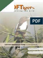 TOFT Visitor Feedback Form A5